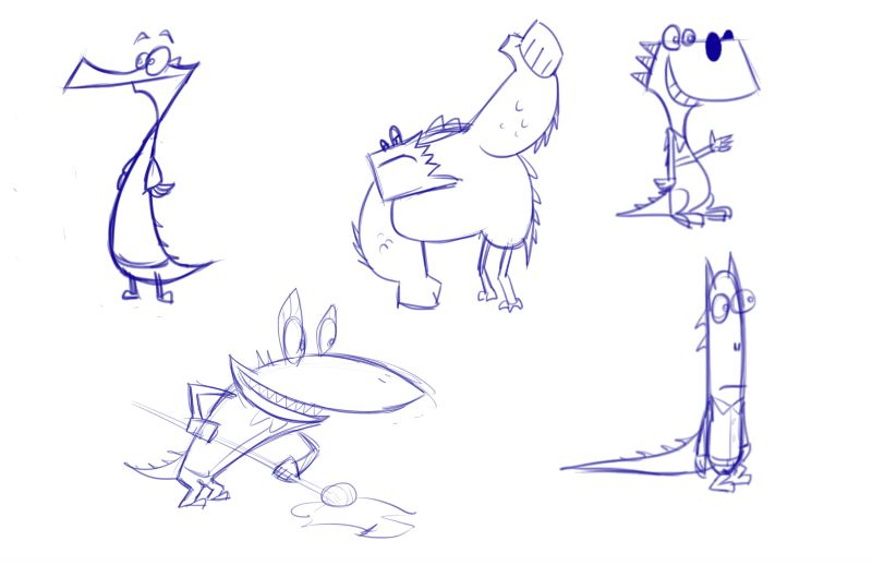 Character Design Work from Nickelodeon, Part 2 (2/6)