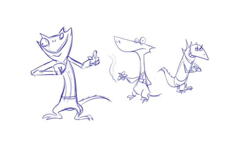 Character Design Work from Nickelodeon, Part 2 (3/6)