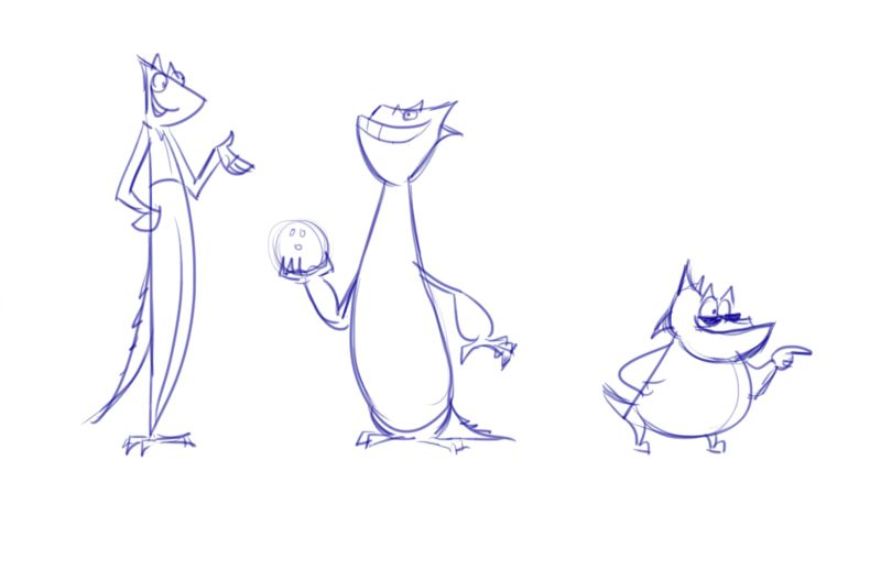 Character Design Work from Nickelodeon, Part 2 (4/6)