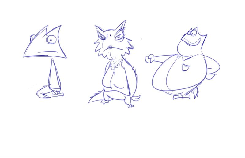 Character Design Work from Nickelodeon, Part 2 (5/6)