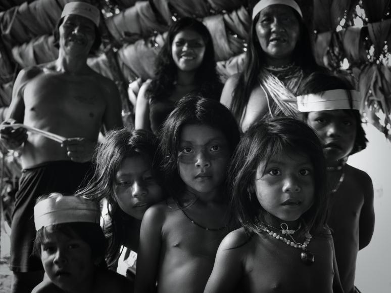 A Waorani Family in Nenki Pare